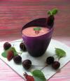 Ягодный смузи с домашним йогуртом