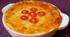 Картофельная запеканка с овощами и домашним сыром