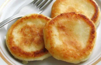 Пышные нежные сырники без яиц