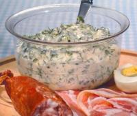 Йогуртовый соус с зеленью