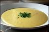 Суп-крем с луком-пореем